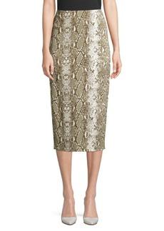 Diane Von Furstenberg Kara Printed Pencil Skirt