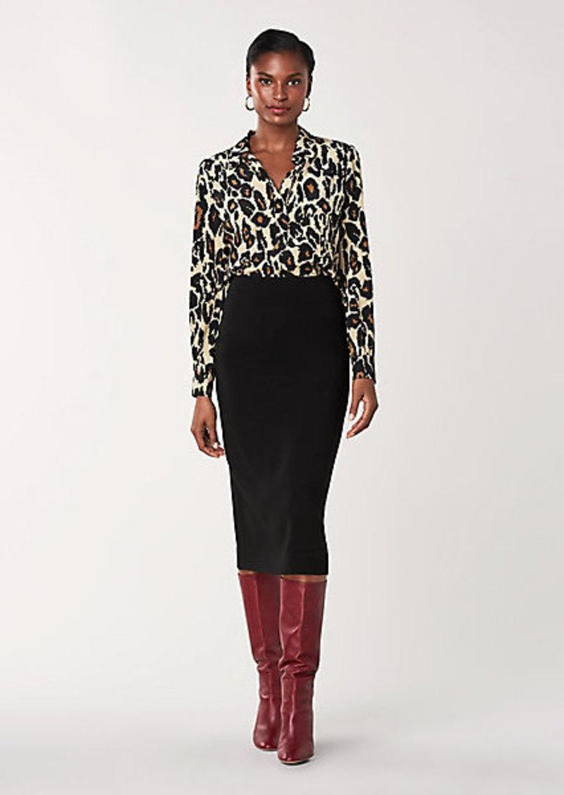 Diane Von Furstenberg Kara Two Stretch Cotton Skirt