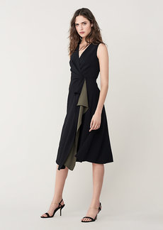 Diane Von Furstenberg Addison A-Line Midi Dress