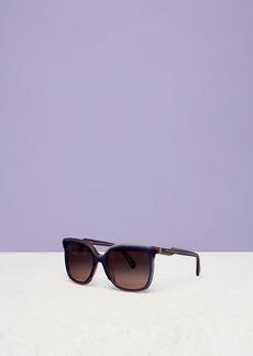 Diane Von Furstenberg Karlie Oversized Square Sunglasses