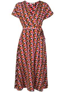 Diane Von Furstenberg Kelsey stretch-georgette wrap dress