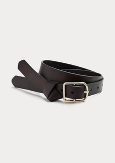 Diane Von Furstenberg Kleanne Leather Skinny Belt