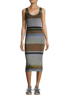 Diane Von Furstenberg Knitted Tank Midi Dress