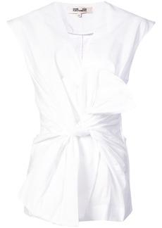 Diane Von Furstenberg knot-detail blouse
