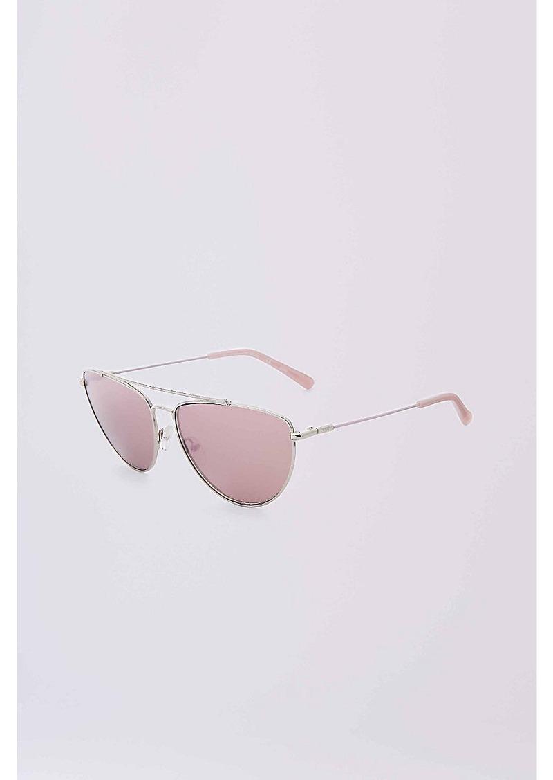 17ba9a882c579 Diane Von Furstenberg Krista Aviator Sunglasses