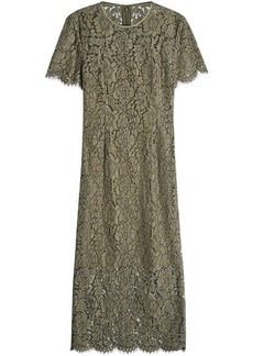 Diane Von Furstenberg Lace Midi Dress