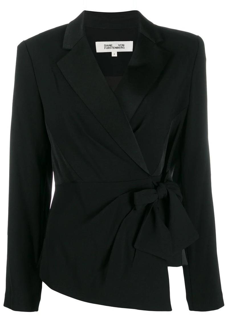 Diane Von Furstenberg Lana wrap top