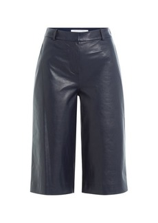 Diane Von Furstenberg Leather Culottes