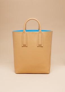 Diane Von Furstenberg Leather Origami Tote