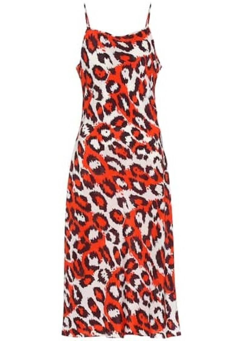 Lespo silk slip dress