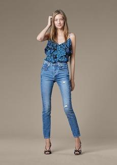 Diane Von Furstenberg Levi's 501 Skinny Altered Jeans
