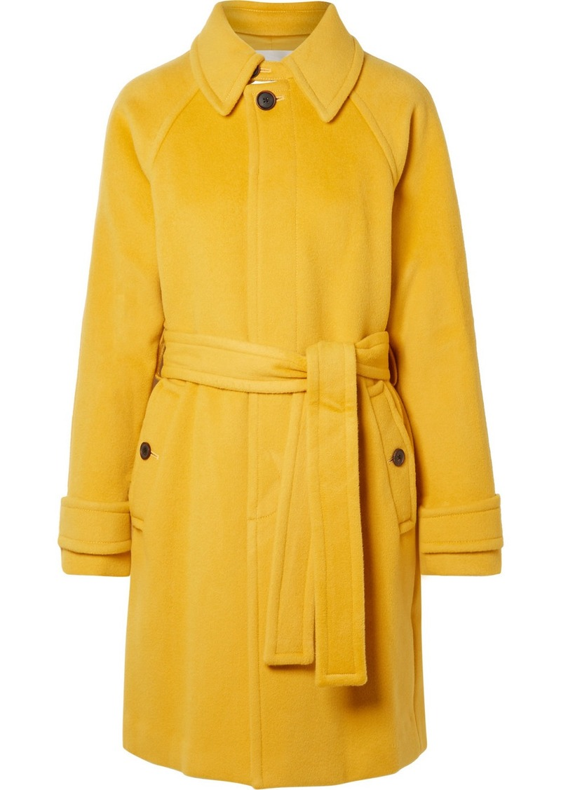Diane Von Furstenberg Lia Belted Wool Coat