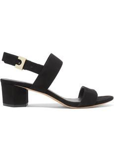 Diane Von Furstenberg Link Suede Slingback Sandals