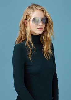 Diane Von Furstenberg Lisa D-Frame Sunglasses