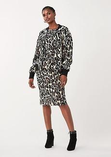 Diane Von Furstenberg Lon Jacquard Knit Bomber Jacket