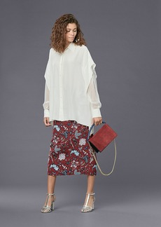 Diane Von Furstenberg Long-Sleeve Button-Down Shirt