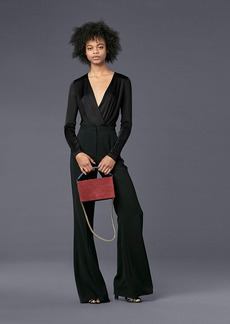 Diane Von Furstenberg Long-Sleeve Lala Bodysuit
