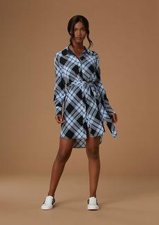 Diane Von Furstenberg Long-Sleeve Shirt Dress