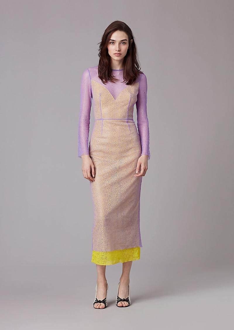d38e4491b76aa Diane Von Furstenberg Long Sleeve Two Layer Dress   Dresses