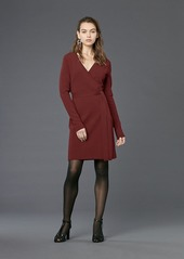 Diane Von Furstenberg Elbow Sleeve Sweater Dress