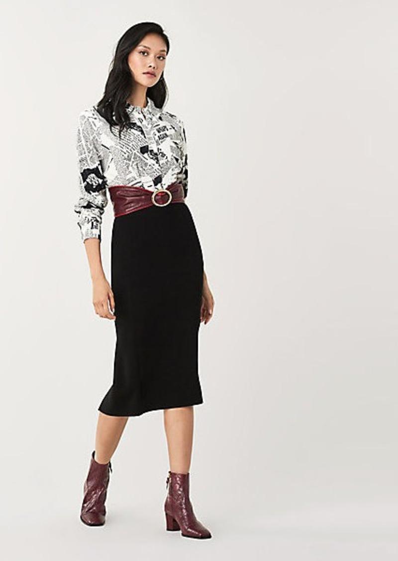 Diane Von Furstenberg Lorelei Two Vintage Crepe Shirt