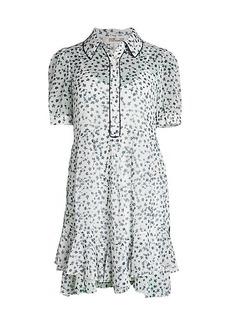Diane Von Furstenberg Lou Floret Shirtdress