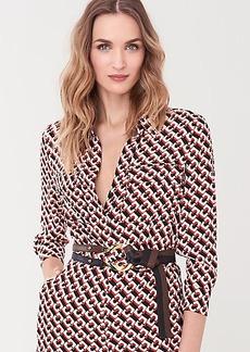 Diane Von Furstenberg Maja Leather Belt