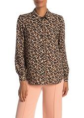 Diane Von Furstenberg Mariah Print Shirt