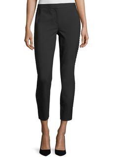Diane Von Furstenberg Marjie Bead-Embellished Pants
