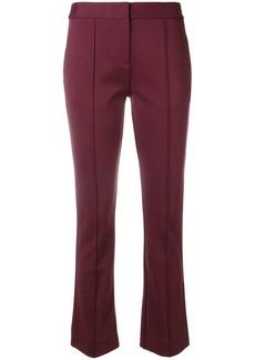 Diane Von Furstenberg cropped bootcut trousers