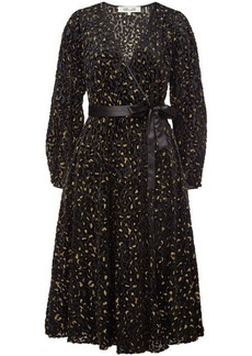 Diane Von Furstenberg Midi Wrap Dress