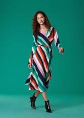 Diane von furstenberg midi wrap dress abvae976e6 a
