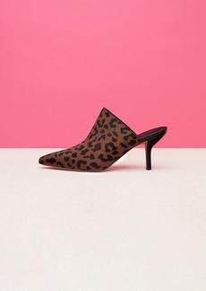 Diane Von Furstenberg Mikaila Leopard Mules