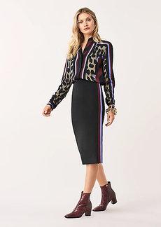 Diane Von Furstenberg Miranda Stretch Ponte Pencil Skirt
