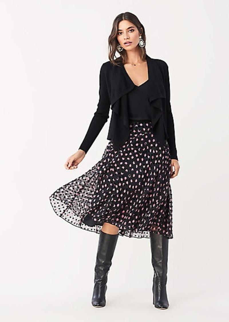 Diane Von Furstenberg Molly Devore Midi Skirt