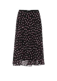 Diane Von Furstenberg Molly silk-blend midi skirt