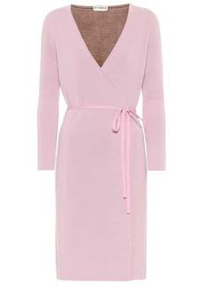 Diane Von Furstenberg Mylene stretch-wool wrap dress