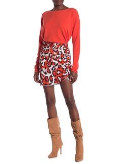 Diane Von Furstenberg Nadia Ruched Silk Skirt
