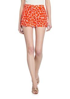 Diane Von Furstenberg Naples Pattern Shorts