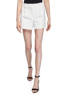 Diane Von Furstenberg Naples Pleated Shorts