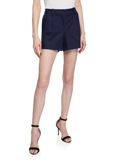 Diane Von Furstenberg Naples Pleated Shorts