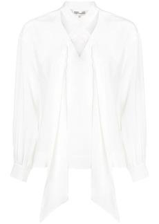 Diane Von Furstenberg neck-tied long sleeve blouse