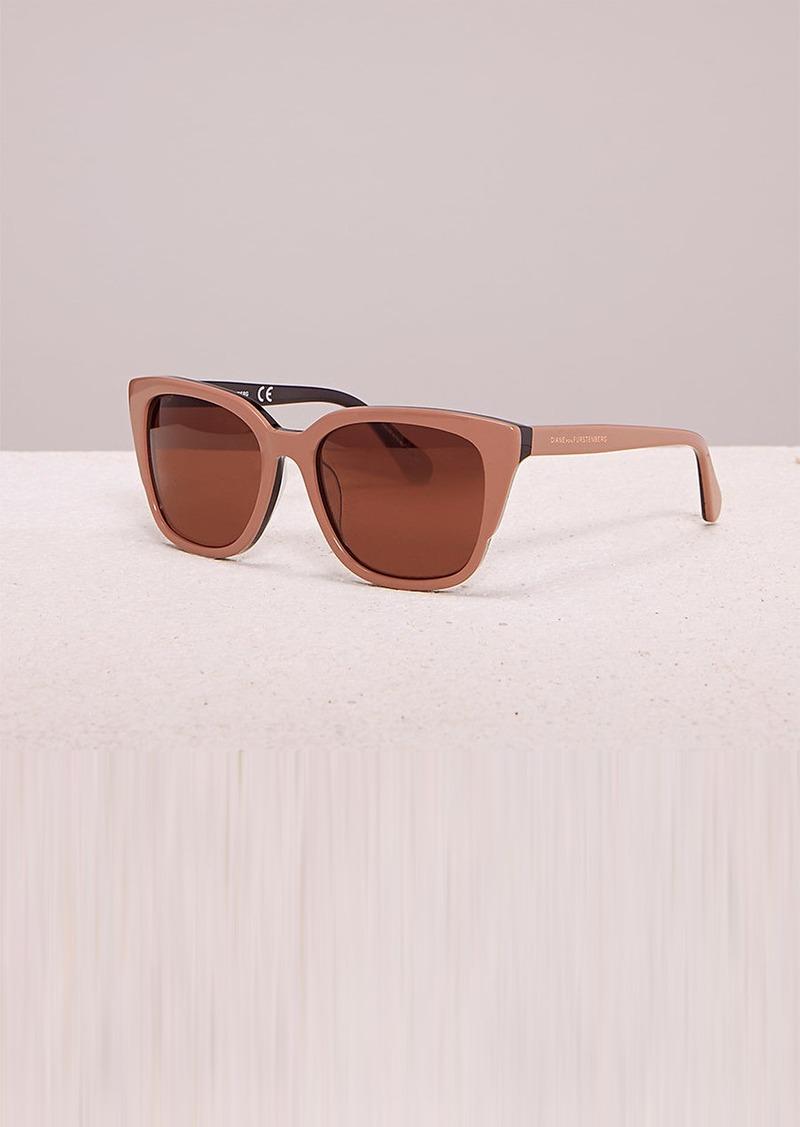 e7e0a57cf8c2a Diane Von Furstenberg Neri Sunglasses