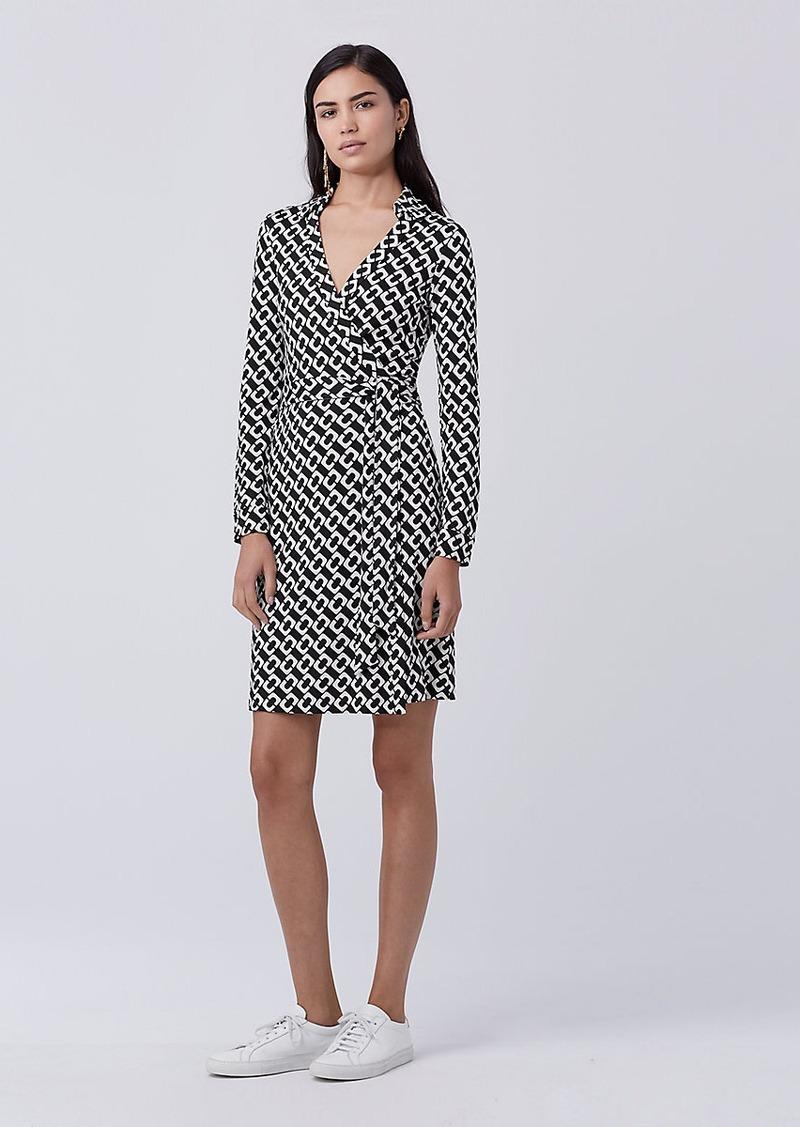 Diane Von Furstenberg New Jeanne Two Silk Jersey Wrap