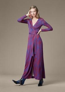 New Julian Long Banded Wrap Dress