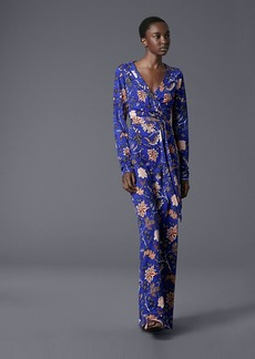 New Julian Long Banded Wrap Dress