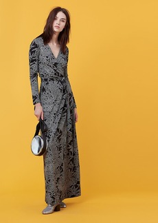 New Julian Long Wrap Dress