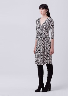 New Julian Two Silk Jersey Wrap Dress