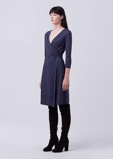 New Julian Two Silk Jersey Wrap Dress