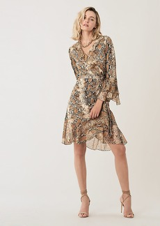 Diane Von Furstenberg Carli Ruffled Silk-Jersey Wrap Dress